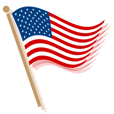 Free Wallpaper on Us Flag Clipart